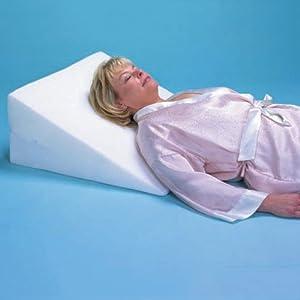 Amazon Com Foam Bed Wedge Pillow 7 Inch Foam Wedge Bed