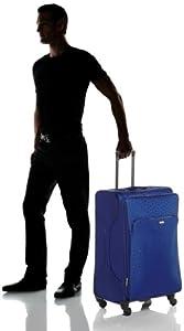 Stratic Pegasus Wheeled Suitcase Blue Kobalt Size48 X 22 X 77