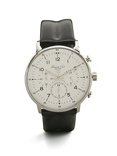 kenneth-cole-new-york-mens-kc1568-iconic-chronograph-black-leather-strap-dress-watch