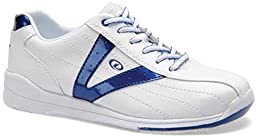 Dexter Vicky Bowling Shoes, White/Blue, 9