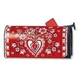 MailWraps Folk Valentine Mailbox Cover #02628