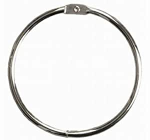 Simple And Stylish Stainless Steel O Ring Curtain Shower Hooks Circular Shower