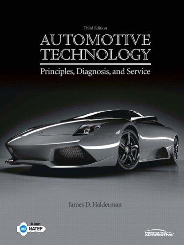 Automotive Technology: Principles, Diagnosisd Service...