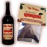 Cinchona vermut | la preparazione per l'aperitivo della casa tonico corteccia di china | borsa per 2 bottiglie