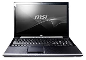 MSI FX620DX-256US 15.6-Inch Notebook (Black)
