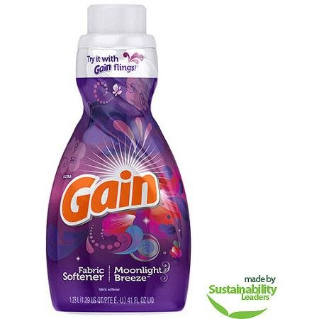 Gain Ultra Moonlight Breeze Liquid Fabric Softener, 41 Fl Oz (Gain Fabric Softener Sheets compare prices)