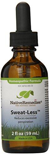 Native Remedies Sweat-Less, 59 ml Bottle