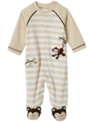 Little Me Layette Footie Monkey