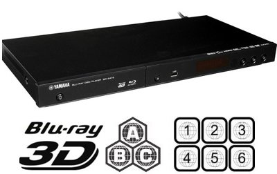 2013 yamaha 3d codefree bd s473 blu ray disc player. Black Bedroom Furniture Sets. Home Design Ideas