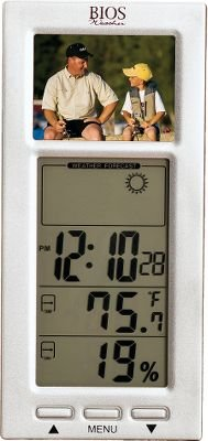National Geographic Digital Photo Frame Thermometer