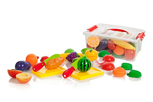 35-piece-cutting-food-play-set-fruits-vegetables-2-cutting-boards-in-a-storage-container