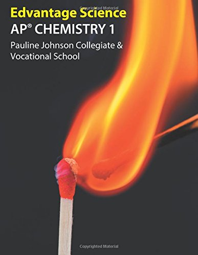 Ap Chemistry 1: Pauline Johnson Collegiate & Vocational School