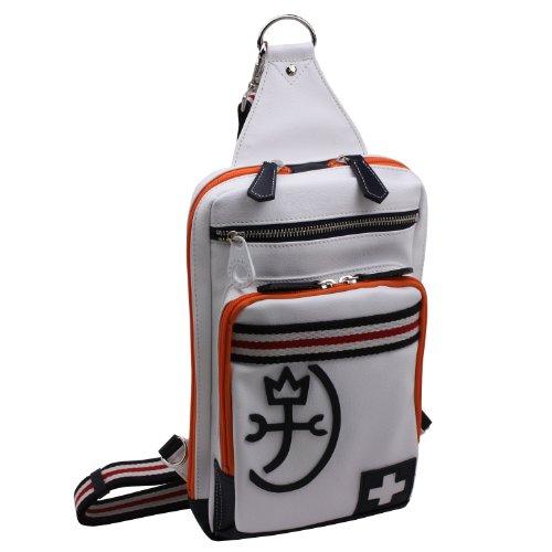 [カステルバジャック] CASTELBAJAC ワンショルダーバッグ(パンセ) 059913 (シロ-white)