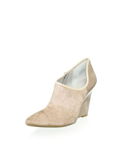 Calvin Klein Women's Nadina Wedge Bootie  - Light Taupe