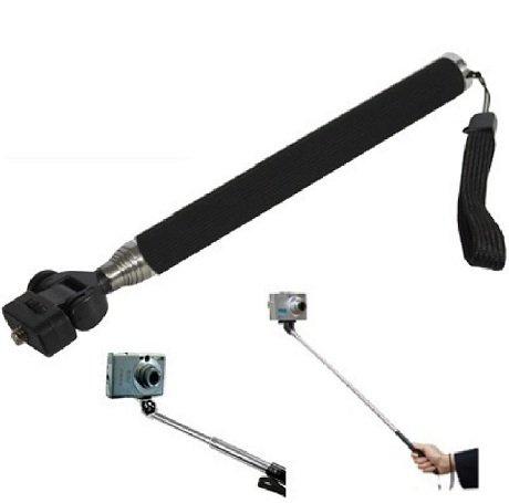 Active PRO - Traveller Monopod for Compact Digital Cameras - Works with Sony, Canon, Nikon, Panasonic, Flip, Kodak, Fujifilm, Toshiba, Veho and Go Pro Action Camera - With Wrist Strap - Range: 22 to 109 cm - AAA Products®
