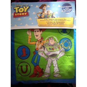Crown Crafts-Toy Story 3Pc Toddler Accessory Set