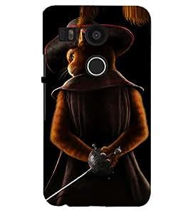 PRINTSHOPPII CARTOON Back Case Cover for LG Google Nexus 5X::LG Google Nexus 5X (2nd Gen)::Google Nexus 5X::Nexus 5X (2015)