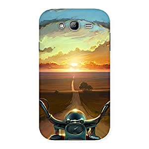 Wonder Cruise Way Multicolor Back Case Cover for Galaxy Grand