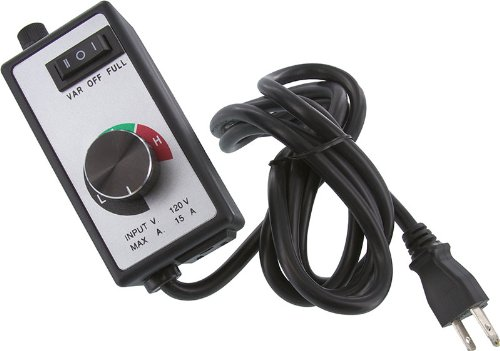 Se Step Less Speed Controller - Electronic, 15 Amps