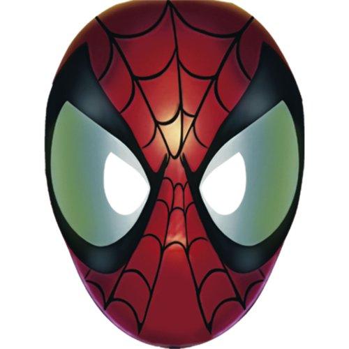 Spider-Man Paper Masks - 8 Count - 1