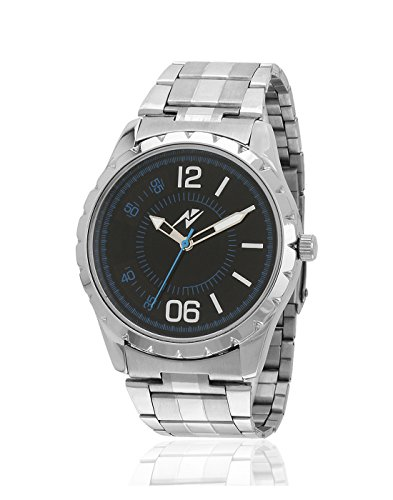 Yepme Men's Analog Watch – Black/Silver — YPMWATCH2630