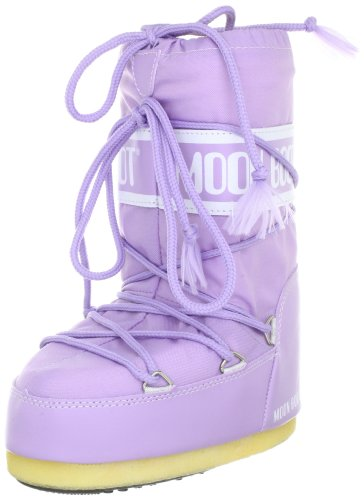 Tecnica Moon Boot Nylon 14004400060, Stivali da neve unisex adulto, Viola (Violett (Lila Light 060)), 27