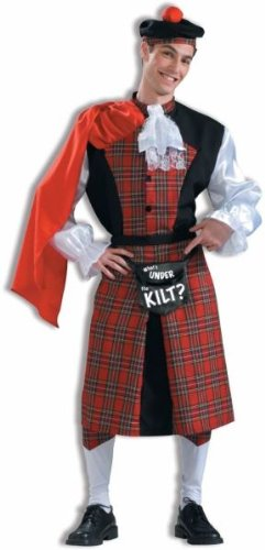 What's Under The Kilt Men's Costume- One Size