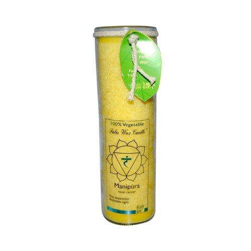 Aloha Bay Unscented Chakra Jar Protection Manipura Yellow - 1 Candle