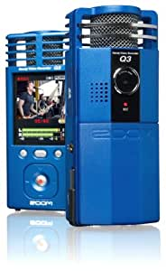Zoom Q3 Handy Video Recorder (Metal Blue)
