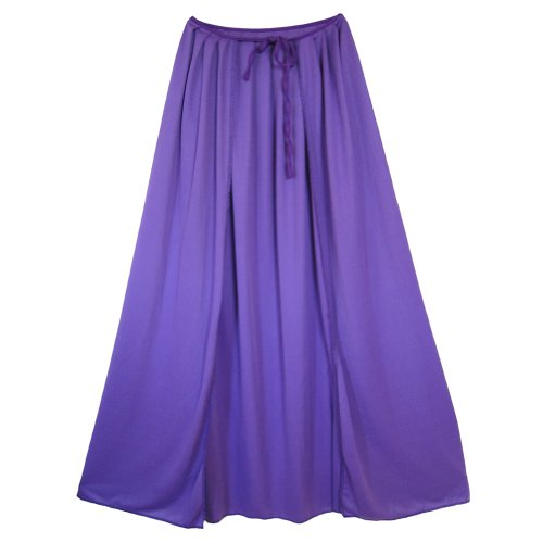 "SeasonsTrading 28"" Child Purple Cape ~ Halloween Costume Accessory"