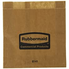 Rubbermaid Commercial FG6141000000 Waxed Sanitary Napkin Receptacle Liners (Case Of 250)