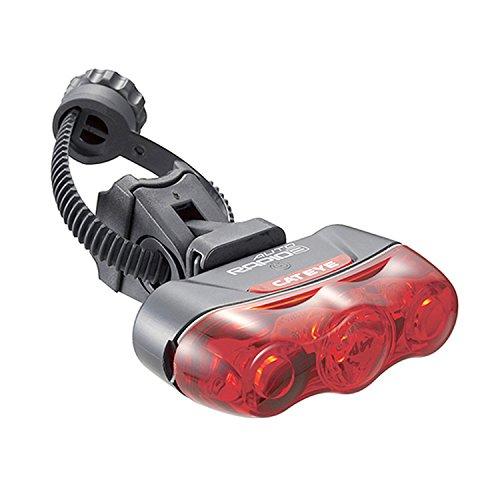 キャットアイ(CAT EYE) セーフティオートライト [TL-AU630] RAPID3 AUTO ラピッドスリーオート リア用 照度&振動センサー装備
