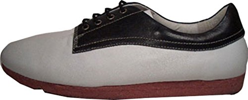 Creative Recreation Shapiro Leather cr151 bianco/nero taglia 42/US 9/UK 8/27 cm
