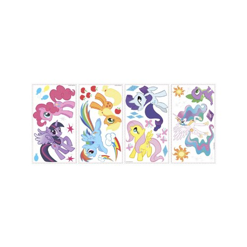 RoomMates RMK2498SCS My Little Pony Peel and Stick Wall Decals - 1