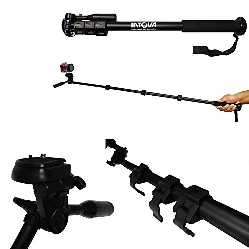 Extendable Handheld Telescopic Intova Extension Pole Camera Monopod Holder New !