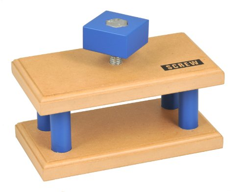 Simple Wooden Machine: Screw Model, (92316)