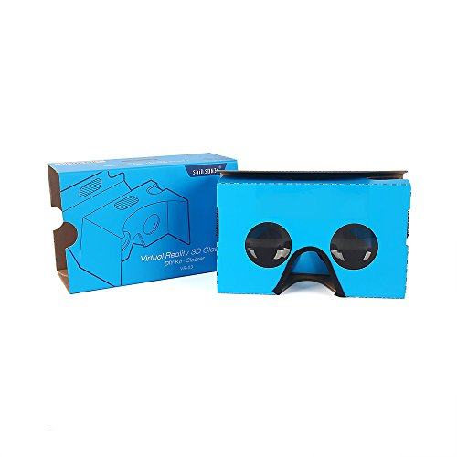 Review Google Cardboard V2 Inspired by Google, SainSonic Virtual Reality 3D Glasses for iOS & An...