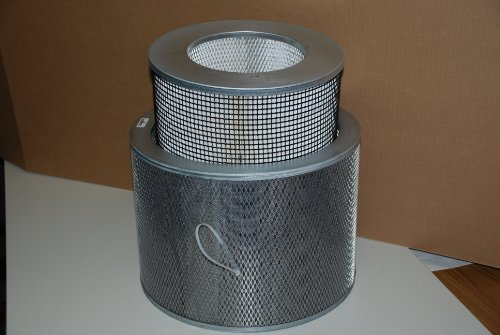 Image of NQ Industries Replacement HEPA Filter Includes Both the HEPA Carbon Filters (B002AH5MG8)