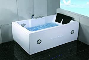 2 Two Person Indoor Whirlpool Massage Hydrotherapy