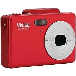 VIVITAR VF124-RED 14.1 Megapixel iTwist(R) Digital Camera