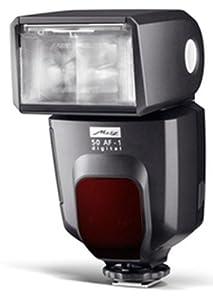 Metz 50 AF-1 MZ 50312OPL Digital Flash for Olympus, Panasonic and Leica Cameras