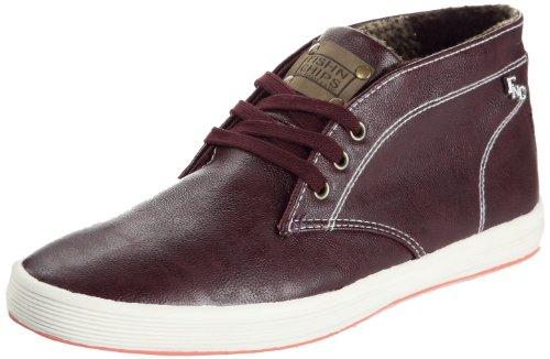 Base London - Sneaker Ue 04 20 1 Uomo, Marrone (Marron (Grain bordo)), 43