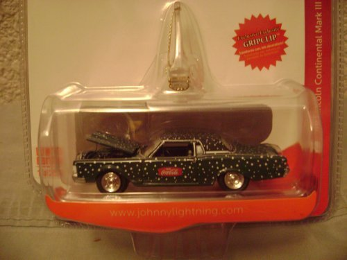 Johnny Lightning Coca-Cola Winter 1969 Lincoln Continental Mark lll