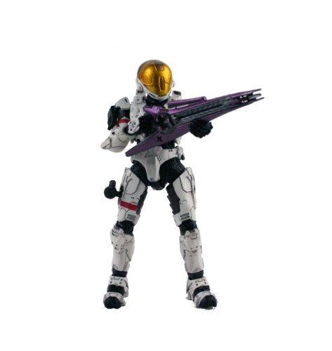 Buy Low Price McFarlane Halo 3 Series 2 White Spartan Soldier (Eva Armor) Figure (B000VZSYHU)