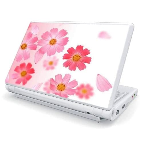 Pink Daisy Design Skin Cover Decal Sticker for Acer (Aspire ONE) 8.9 inch ZG5 Netbook Laptop Notebook