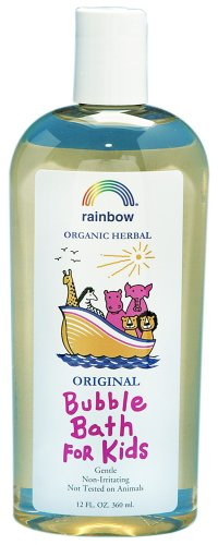 Rainbow Research - Organic Herbal Bubble Bath For Kids Original - 12 oz. - 1