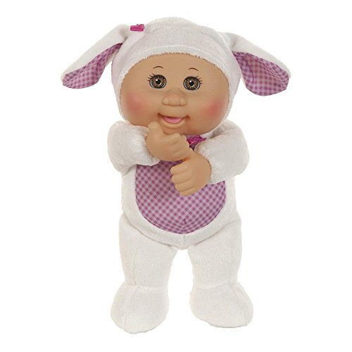 [Cabbage Patch Kids 9 inch Farm Cuties - Brown Eyed Shelby Sheep] (Cutie Rag Doll Costumes)