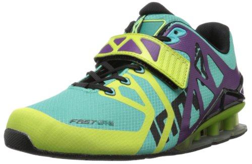 Inov-8 Women's Fast Lift 315 Cross-Training Shoe,Grape/Atlantis/Lime,8 M US