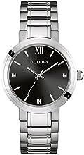Comprar Bulova - Reloj analógico de cuarzo para mujeres, correa de acero inoxidable
