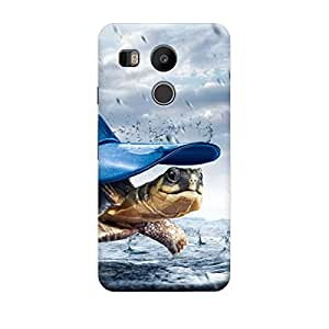 CaseLite Premium Printed Mobile Back Case Cover With Full protection For LG Nexus 5X (Designer Case)